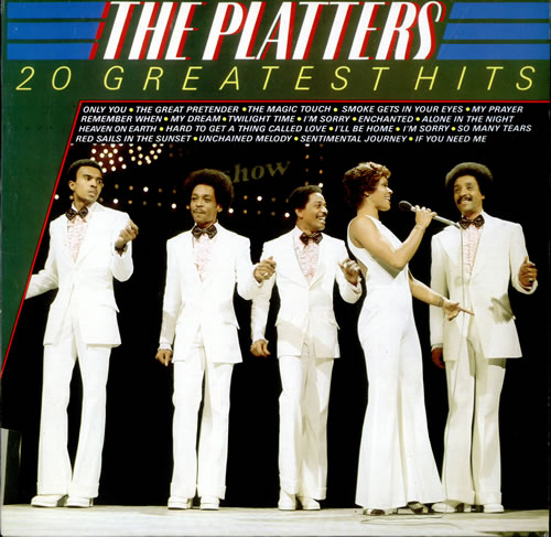 The Platters 20 Greatest Hits Dutch Vinyl Lp Album Lp