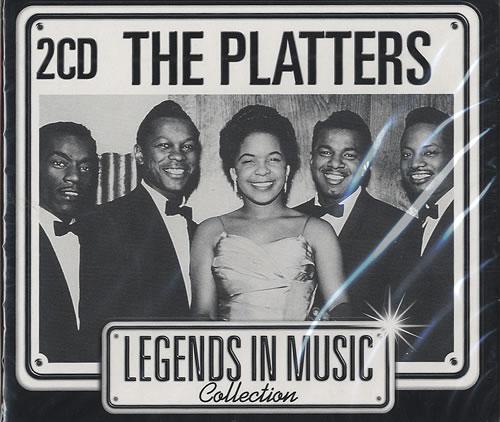The Platters Legends In Music Dutch Promo 2 Cd Album Set