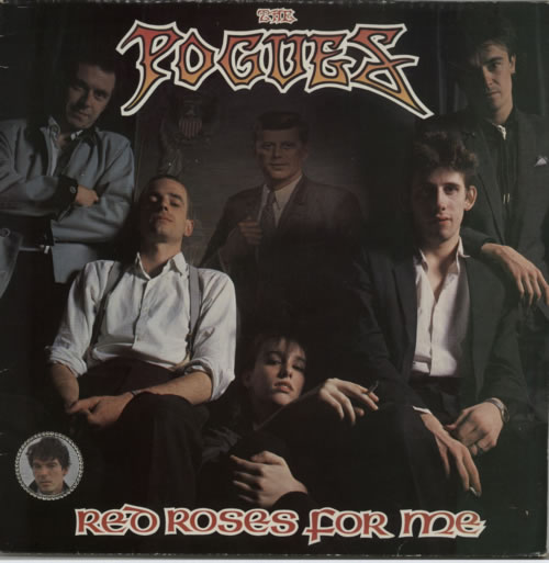 The Pogues Red Roses For Me vinyl LP album (LP record) UK POGLPRE102378