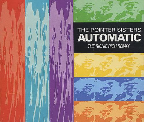 """The Pointer Sisters Automatic CD single (CD5 / 5"""") UK TPSC5AU80900"""