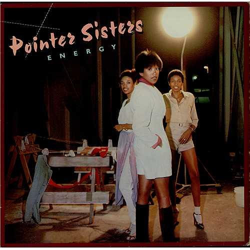 The Pointer Sisters Energy vinyl LP album (LP record) German TPSLPEN408574