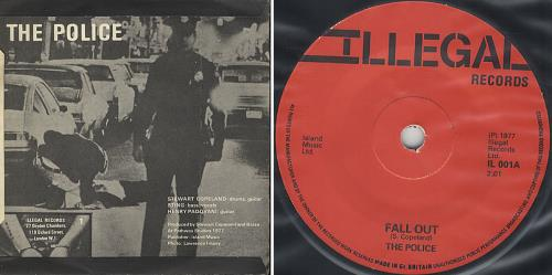 The police fall out single