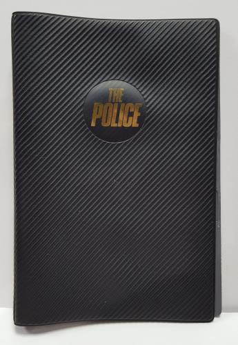 The Police Filofax memorabilia Japanese POLMMFI330913