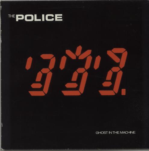 The Police Ghost In The Machine - EX vinyl LP album (LP record) UK POLLPGH666133