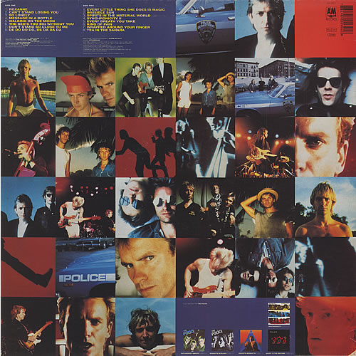The Police Greatest Hits Uk Vinyl Lp Album Lp Record