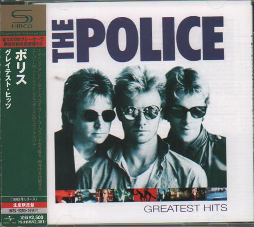 The Police Greatest Hits SHM CD Japanese POLHMGR431905