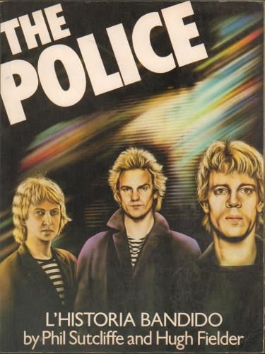 The Police L'Historia Bandido book UK POLBKLH669668