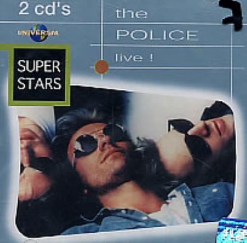 The Police Live! 2 CD album set (Double CD) Venezuelan POL2CLI264919