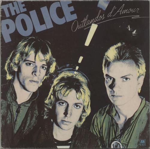 The Police Outlandos D'Amour vinyl LP album (LP record) UK POLLPOU214397