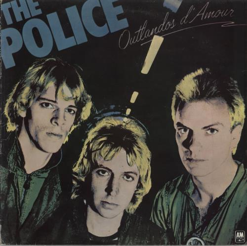 The Police Outlandos d'Amour vinyl LP album (LP record) Portugese POLLPOU316822