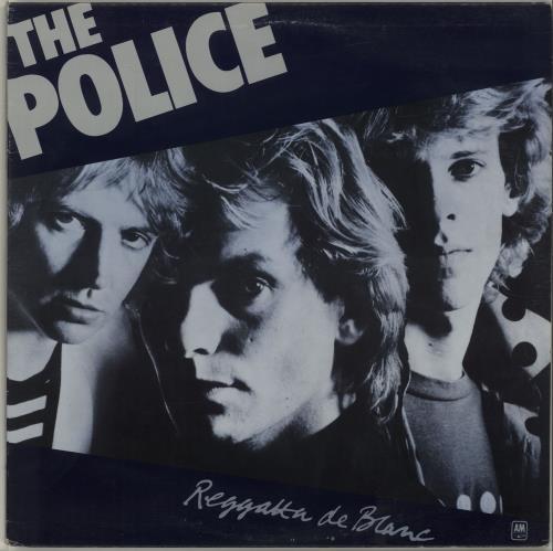 The Police Regatta De Blanc vinyl LP album (LP record) Canadian POLLPRE598084