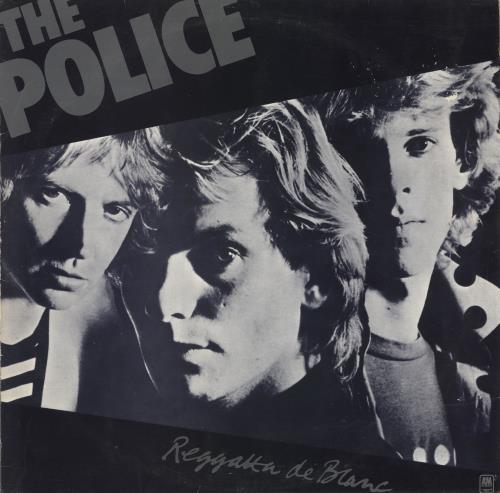 The Police Reggata De Blanc - EX vinyl LP album (LP record) Portugese POLLPRE724710