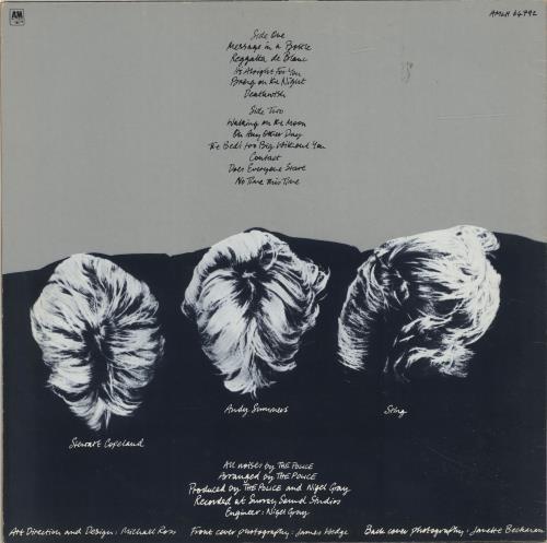 The Police Reggatta De Blanc - EX vinyl LP album (LP record) UK POLLPRE678433