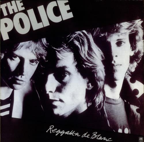 The Police Reggatta De Blanc - Shrink vinyl LP album (LP record) UK POLLPRE546892