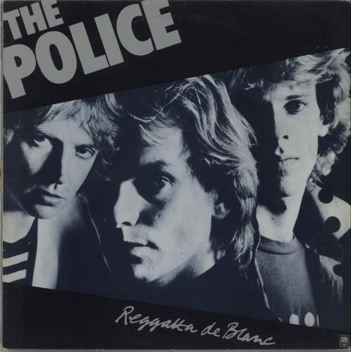 The Police Reggatta De Blanc vinyl LP album (LP record) UK POLLPRE246426