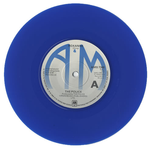 The Police Roxanne Blue Vinyl Uk 7 Quot Vinyl Single 7 Inch