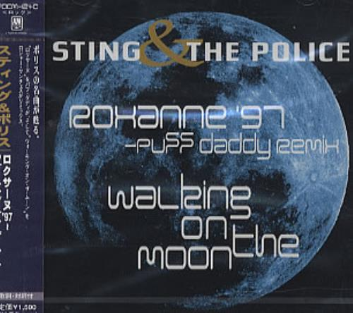 "The Police Roxanne'97 & Walking On The Moon '98 CD single (CD5 / 5"") Japanese POLC5RO102938"