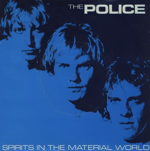 """The Police Spirits In The Material World 7"""" vinyl single (7 inch record) UK POL07SP377911"""