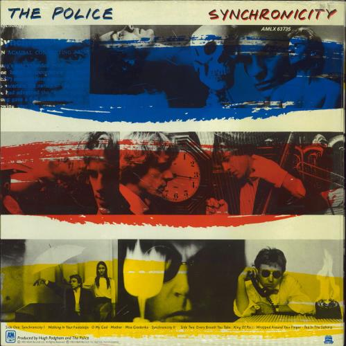 The Police Synchronicity - Opened Shrink vinyl LP album (LP record) UK POLLPSY774163