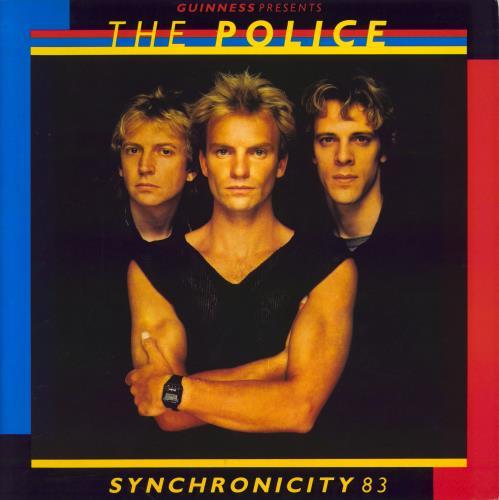 The Police Synchronicity 83 + Ticket stub tour programme UK POLTRSY660538