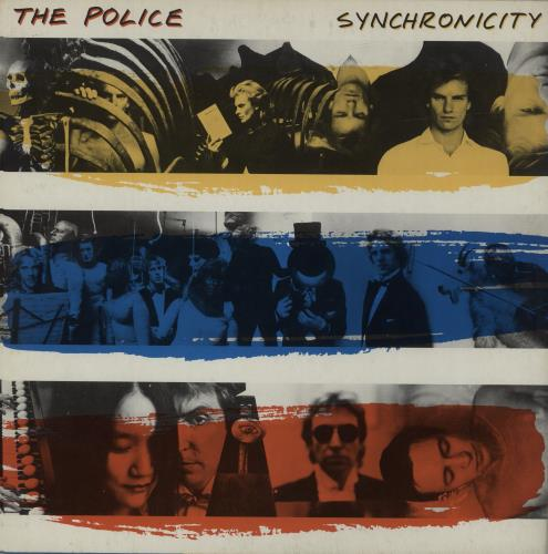 The Police Synchronicity vinyl LP album (LP record) UK POLLPSY616825