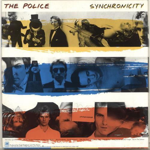The Police Synchronicity vinyl LP album (LP record) Italian POLLPSY717569
