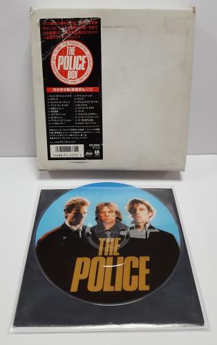 "The Police The Police Box + Obi - EX 7"" box set Japanese POL7XTH614310"