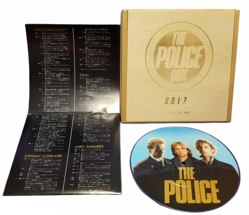 "The Police The Police Box - Sealed 7"" box set Japanese POL7XTH309558"