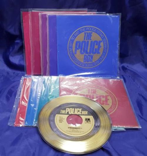 "The Police The Police Box 7"" box set Japanese POL7XTH699633"