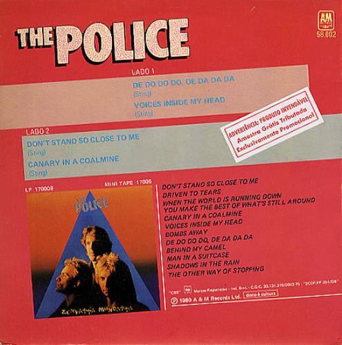 The Police The Police EP Brazilian 7