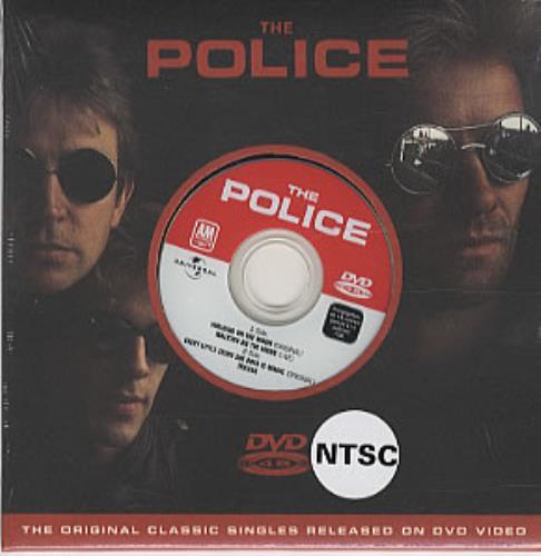 The Police Walking On The Moon DVD Single Swedish POLDSWA323600