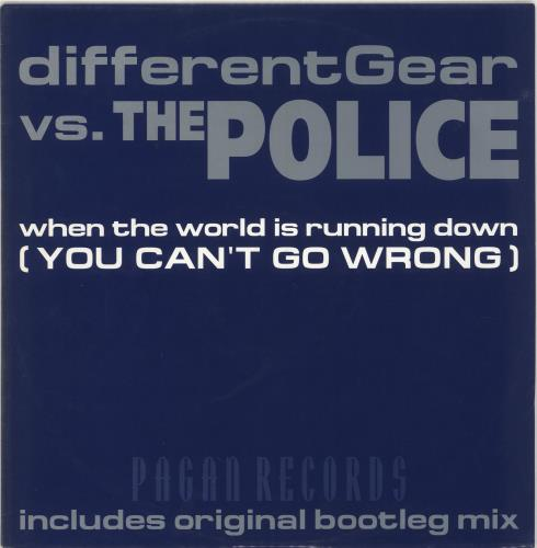 """The Police When The World Is Running Down 12"""" vinyl single (12 inch record / Maxi-single) UK POL12WH273051"""