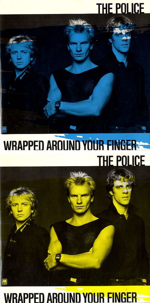 The Police Wrapped Around Your Finger Set Uk 7 Quot Vinyl