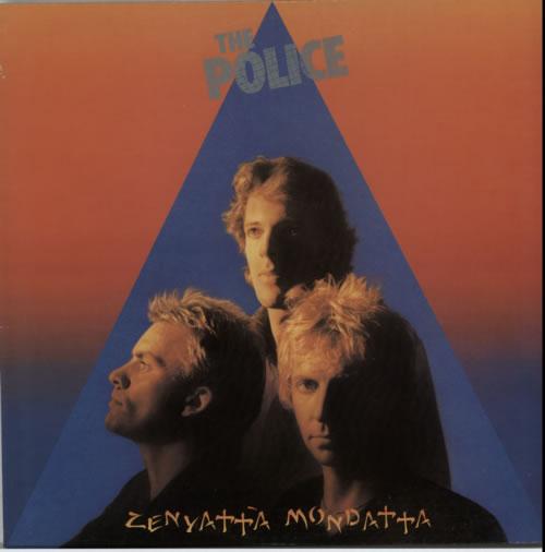 The Police Zenyatta Mondatta vinyl LP album (LP record) UK POLLPZE186451