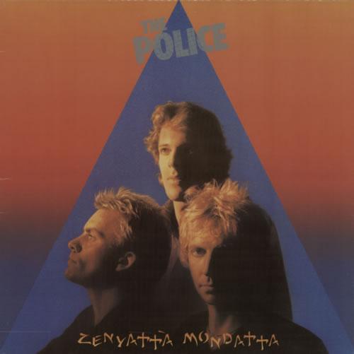 The Police Zenyatta Mondatta vinyl LP album (LP record) Canadian POLLPZE447301