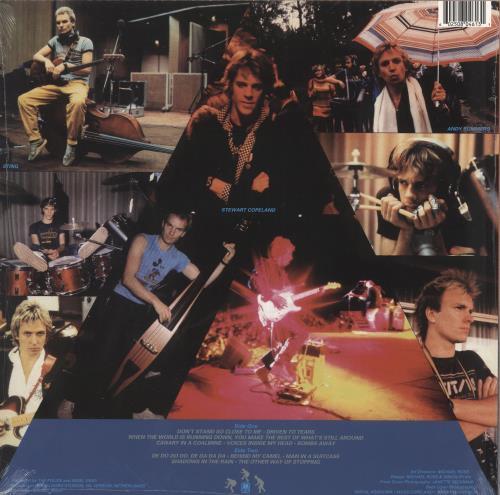 The Police Zenyatta Mondatta vinyl LP album (LP record) UK POLLPZE749336