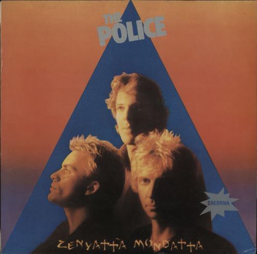 The Police Zenyatta Mondatta vinyl LP album (LP record) Yugoslavian POLLPZE765505
