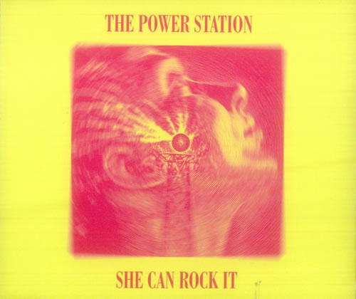 "The Power Station She Can Rock It CD single (CD5 / 5"") UK POWC5SH73505"