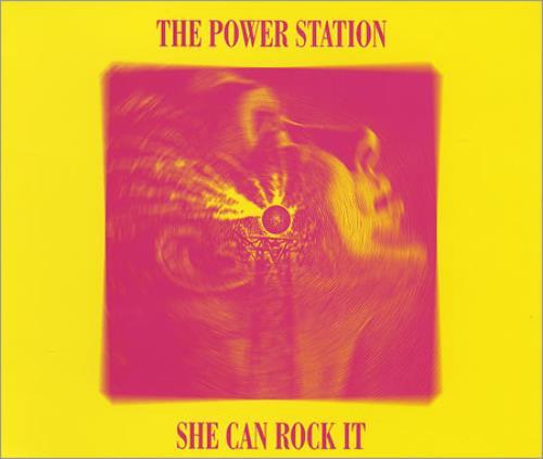 "The Power Station She Can Rock It CD single (CD5 / 5"") Australian POWC5SH73640"
