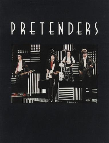 The Pretenders 1980 Tour Us Tour Programme 170100 Tour