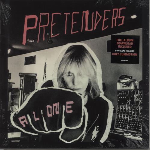 The Pretenders Alone vinyl LP album (LP record) UK PTNLPAL664605