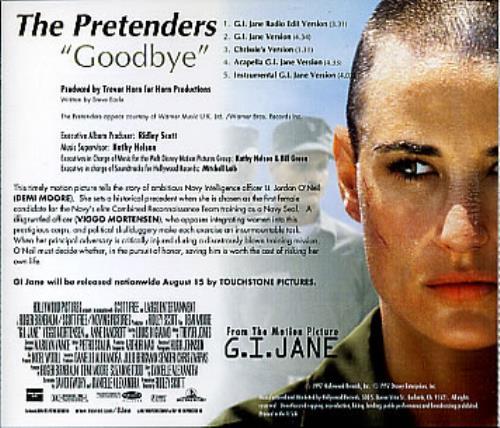 The Pretenders Goodbye Us Promo Cd Single Cd5 5 Quot 93129