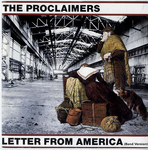 The Proclaimers Letter From America (Band Version)   Injection UK