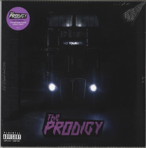 The Prodigy No Tourists - Clear Violet Vinyl - Sealed 2-LP vinyl record set (Double Album) UK PDG2LNO707391
