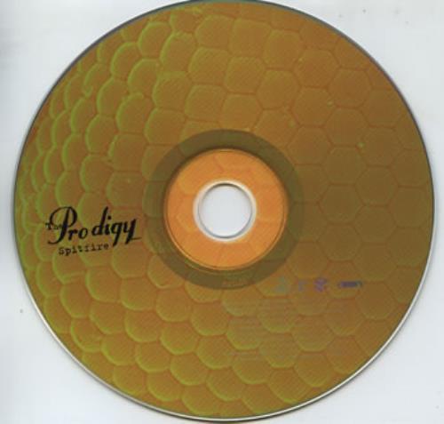"""The Prodigy Spitfire CD single (CD5 / 5"""") US PDGC5SP326843"""