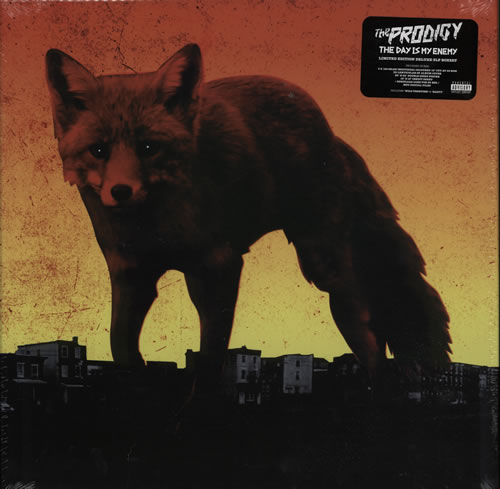 The Prodigy The Day Is My Enemy CD Album Box Set UK PDGDXTH627392
