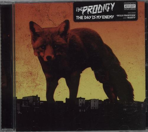 The Prodigy The Day Is My Enemy CD album (CDLP) UK PDGCDTH665419