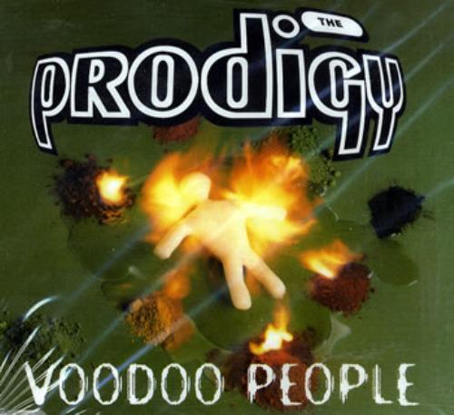 "The Prodigy Voodoo People CD single (CD5 / 5"") UK PDGC5VO73248"