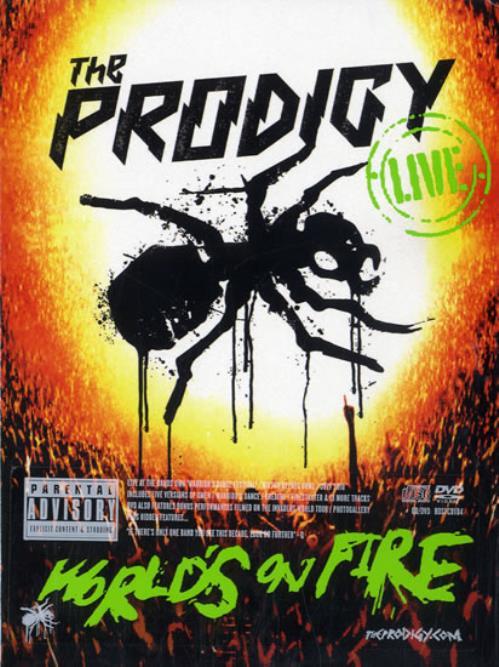 The Prodigy World's On Fire 2-disc CD/DVD set UK PDG2DWO547019