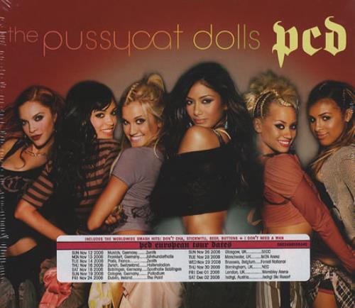 The Pussycat Dolls PCD - Tour Edition 2 CD album set (Double CD) UK PYD2CPC376395